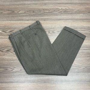 Brioni Brown Wool Dress Pants 32